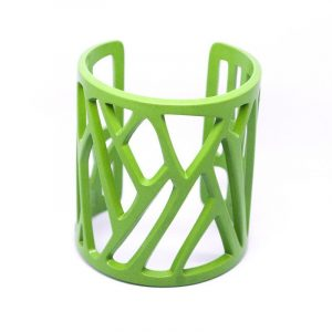 mazinga-bracciale-h70mm-verniciato-verde-lime-opaco