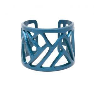 Mazinga-bracciale-alluminio-h45mm-anodizzato blu