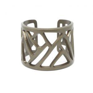 Mazinga-bracciale-alluminio-h45mm-anodizzato bronzo