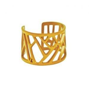 Mazinga-bracciale-alluminio-h45mm-anodizzato ocra