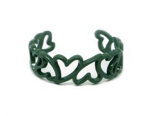 Bracciale San Valentino- My Love-verde petrolio