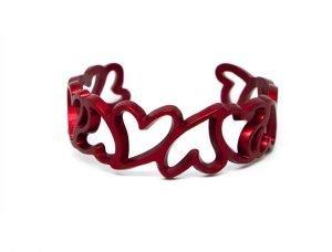 Bracciale San Valentino- My Love-rosso