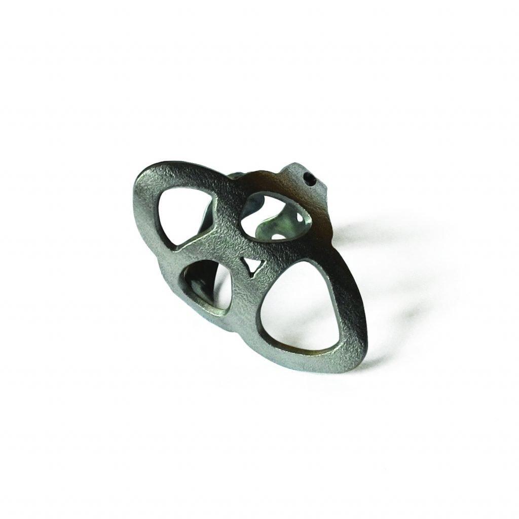 Anello in titanio-Crisalide