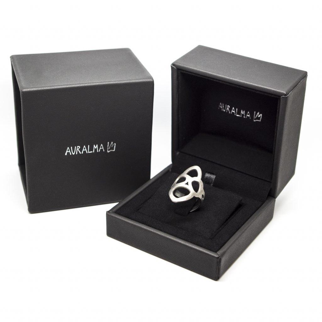 Anello in Titanio Crisalide-Packaging