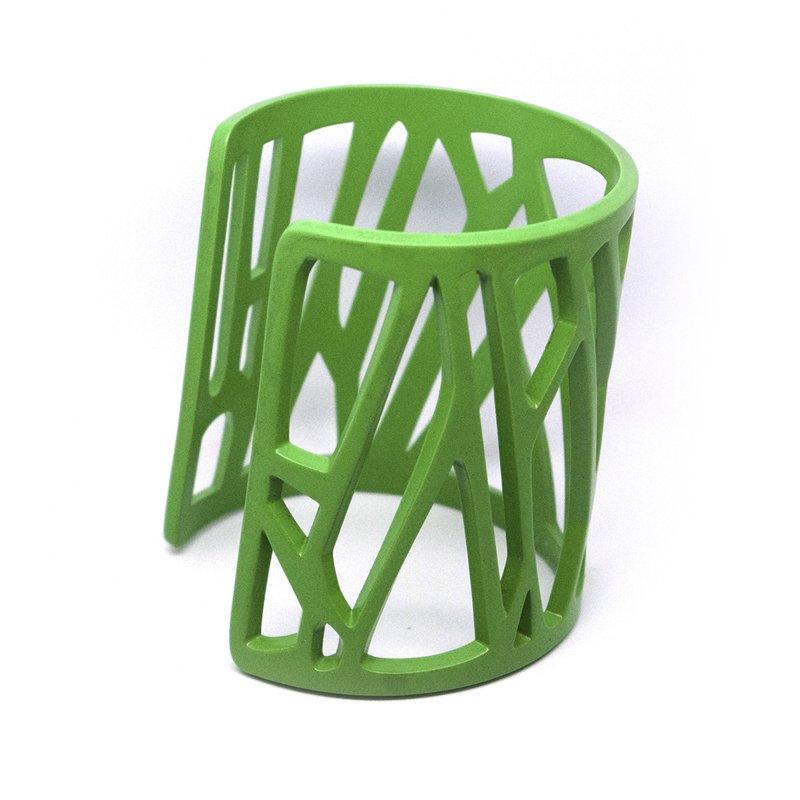 mazinga-bracciale-h70-verniciato-verde-lime-opaco-lato