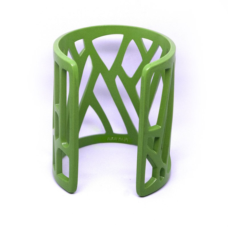 mazinga-bracciale-h70-verniciato-verde-lime-opaco-retro